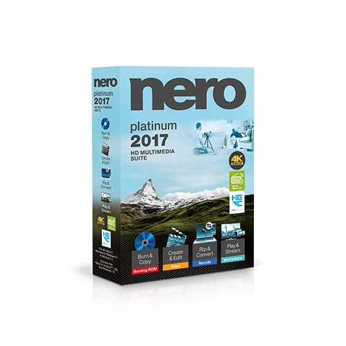 Nero 2017 Platinum [ESD] download version