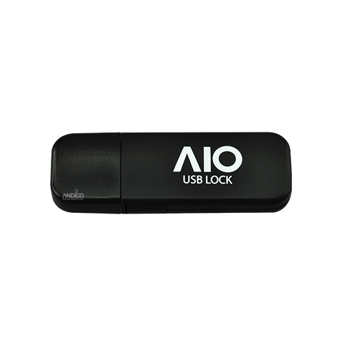 AIO USB LOCK 키